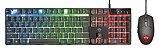 Combo Teclado Gamer Azor Led Anti-ghosting e Mouse Gamer 3000Dpi 6 botões GXT 838 - 23289 -  Trust - Imagem 1