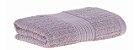 Toalha rosto fio penteado canelado 48x85 rosa Buddemeyer - Imagem 1