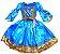 Vestido Princesa Carla Infantil - Imagem 1