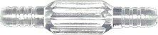 Conector Reto / União Para Extensão De Oxigênio Para Cateter - 1 Unidade - Imagem 1
