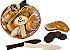 CESTA PROSPERIDADE (pão, moedas e peixes de chocolate) 180g - Imagem 1