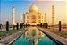 Quebra Cabeça Taj Mahal 1000 Peças 7267 Pais e Filhos - Imagem 2