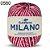 Barbante Milano 200gr Cor 560 Magenta EuroRoma - Imagem 1