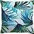 Capa Belize Folhagem Azul e Verde - Imagem 1