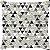 Capa Belize Triângulos Pretos - Imagem 1