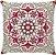 Capa Neo Mandala Vermelha Bege - Imagem 1