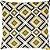 Capa Belize Colmeia Amarelo/Bege - Imagem 1