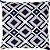 Capa Belize Colmeia Azul Marinho/Bege - Imagem 1