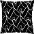 Capa Almofada Minimalista Coração Preto - Imagem 1