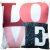 Capa Almofada Love Rose Intenso - Imagem 1