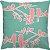 Capa Almofada Pássaros Chá Verde Rosa - Imagem 1