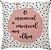 Capa Almofada Essencial Pintas Rosa/Preta - Imagem 1