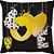 Capa Almofada Love Balão Amarelo - Imagem 1