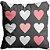 Capa Almofada Grid corações - Imagem 1