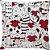 Capa Almofada Gato Coração Vermelho - Imagem 1