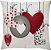 Capa Almofada Love Balão Vermelho - Imagem 1