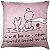Capa Almofada Pequeno Príncipe Rose Frente e Verso - Imagem 1