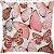 Capa Almofada Borboletas Glitter Rose Gold - Imagem 1