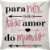 Capa Almofada Para Nós Todo Amor do Mundo Rosa Flechas - Imagem 1