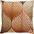 Capa Almofada Terracota Folhagem - Imagem 1
