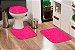 Jogo Banheiro Tapete Microfibra - Pink - Imagem 1