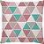 Kit 3 Capas de Almofadas Love Rose Tifany + 1 Manta - Imagem 2