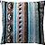 Capa Almofada Veludo Boho Luxo Listrada - Imagem 1
