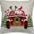 Capa Almofada Papai Noel e Rena - Imagem 1