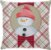 Capa Natal Boneco de Neve Xadrez - Imagem 1