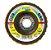 Disco Flap SMT800 115x22,23MM VSC/CO Grosso Marrrom - Imagem 1