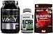 Combo 100% Pure Whey (900g) Probiotica + BCAA TCM (90 caps) Nutrata + Albumina Naturovos - Imagem 1