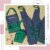 Avental Bust Colors Jeans com verde - Imagem 1