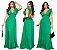 Vestido Longo Viscolinho Pipoca Verde Ref. L51 - Imagem 6