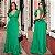 Vestido Longo Viscolinho Pipoca Verde Ref. L51 - Imagem 1