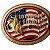 Fivela Para Cinto Country De Zamac Utimate Fighter Bulls 11236 - Imagem 1