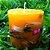 Vela Aromática de Capim Limão Caamanha - Imagem 1