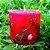 Vela Aromática de Morango Caamanha - Imagem 1