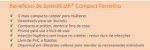 Cateter Uretral Lubrificado SpeediCath Compact Feminino - Coloplast 28578 28580 28582 28584 - Imagem 3