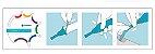 Cateter externo masculino Silicone 1 peça autoadesivo Conveen Optima - Coloplast 22028 22030 22035 - Imagem 4