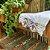 Toalha de Mão Branca em Renda de Bilros Branca - Imagem 1