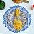 Sousplat Mandala em Bordado Richelieu - Imagem 4