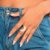 Maxi anel em formato de lua Rommanel - Imagem 2