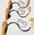 Kit 3 Arandelas Madeira Ferro 1 Lâmpada Simples Artesanal - Imagem 3
