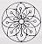 Mandala Em Ferro Redonda Para Decoração - Imagem 3