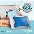 Travesseiro para o Calor Nasa Gelflex 50X70X14cm Duoflex - Imagem 2
