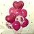 Balao Buque Coração Rosa Pink - Imagem 3