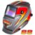 Máscara de Solda Super Tork MTR 9088 Racing Cinza Com Escurecimento Automático - Imagem 1