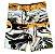 Kit com 3 Bermudas Plus Size elastano masculino  - Imagem 1