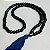 Japamala Olho Grego 108 Contas de Madeira Preto 8mm - Imagem 2