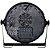 Canhao Refletor Led Par Led 18 Leds 15w Rgbw Uv Dmx - Imagem 4
